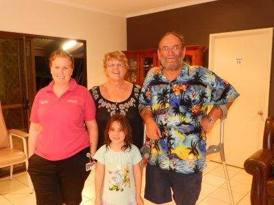 Katrina, Liz, Gary and Charlie