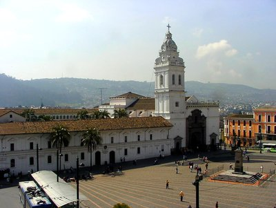 Plaza Grande in Quito/Ecuador