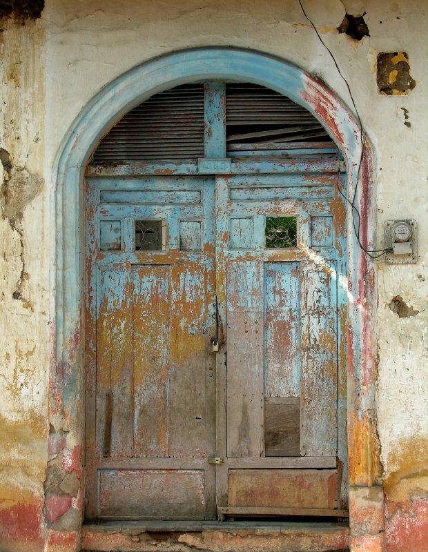 old house,old door