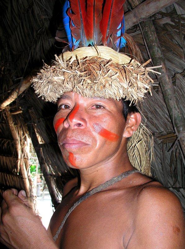 Boa Tribe Man Iquitos/Peru