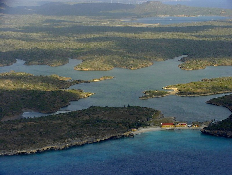 Bonaire from the Air