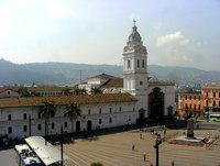 Plaza Grande in Quito/Ecuador