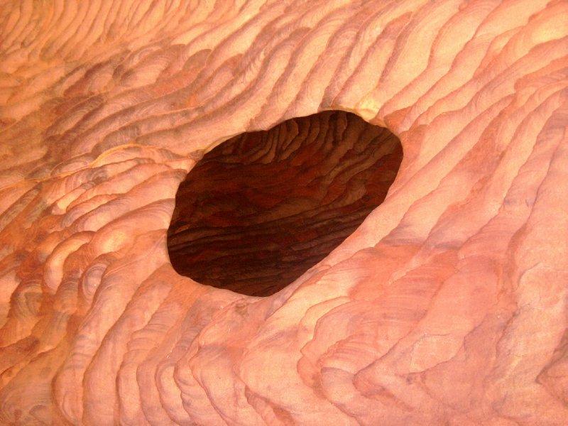 Petra Wavey Cave