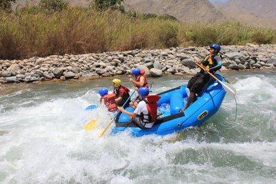 Rafting in Lunahuana