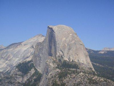 Half Dome from Glacier Point - Close