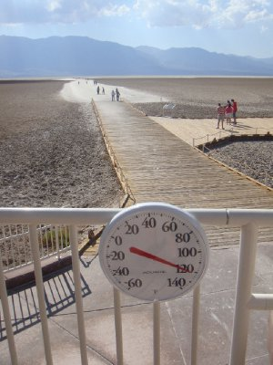 Death Valley - 120°F