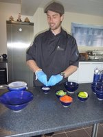 Cooking lesson in Suðureyri