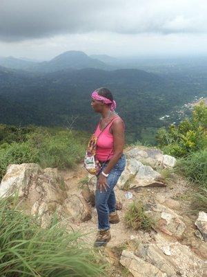 mountain Top reflecting