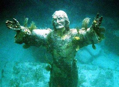 Christ of the Deep Statue,  John Pennekamp State Park, Florida Keys
