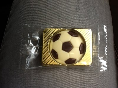 chocolate given out on the train