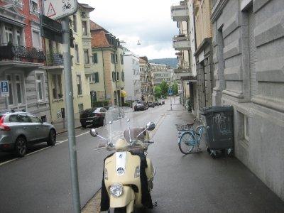 walking around Zurich