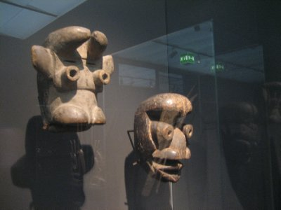 museum rietberg - tell me these masks don't make you think of some characters from star wars