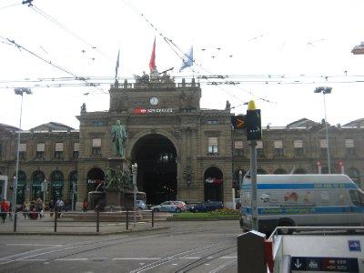 Zurich Hbf - main train station