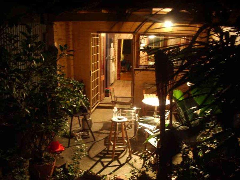 Brandon's backyard