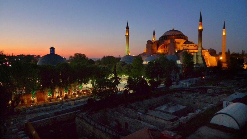 Hagia Sophia, Dusk