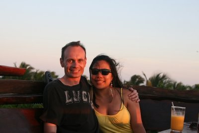 Us in the sunset