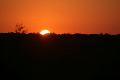 Sunset over Yucatan, part 2