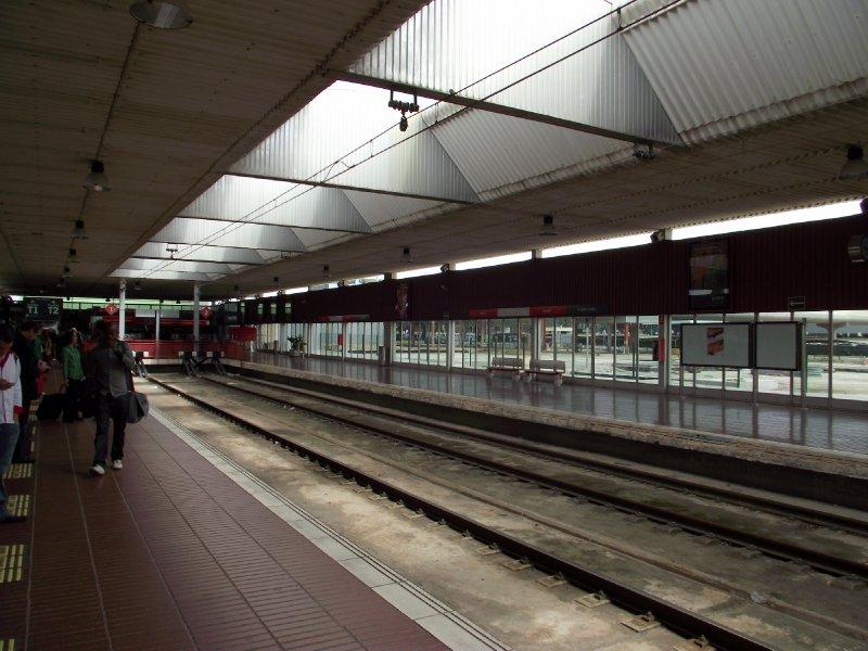 Espanha, Barcelona - Estação de Aeroport