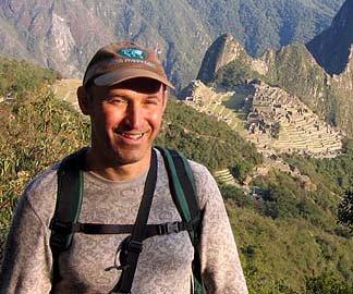 Worldwidemike at Machu Picchu