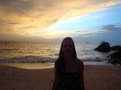 Sunset at Mira beach