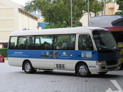 穿梭巴士最好跟酒店預約,因為該巴士服務兩所酒店