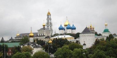 莫斯科 莎哥斯基古城 Zagorsk