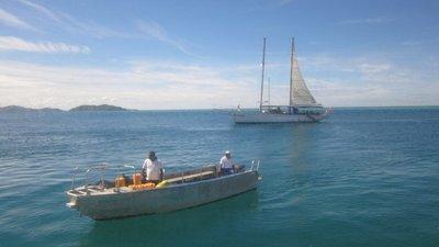 Boat to Seaspray
