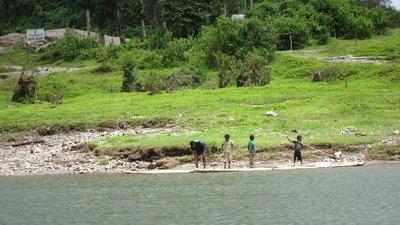 Playing Kids in Fiji