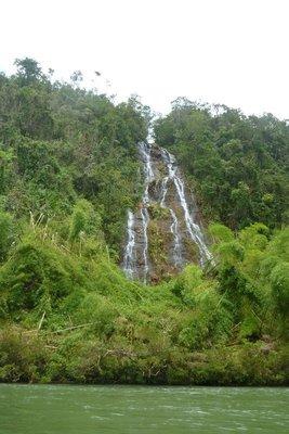 Waterfall in Navua River