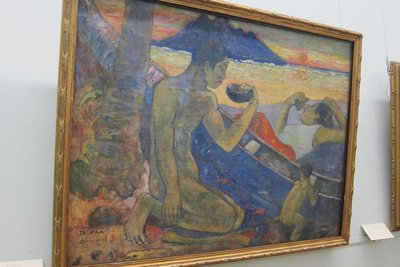 Paul Gauguin- Te Vaa (Canoe) (1896)
