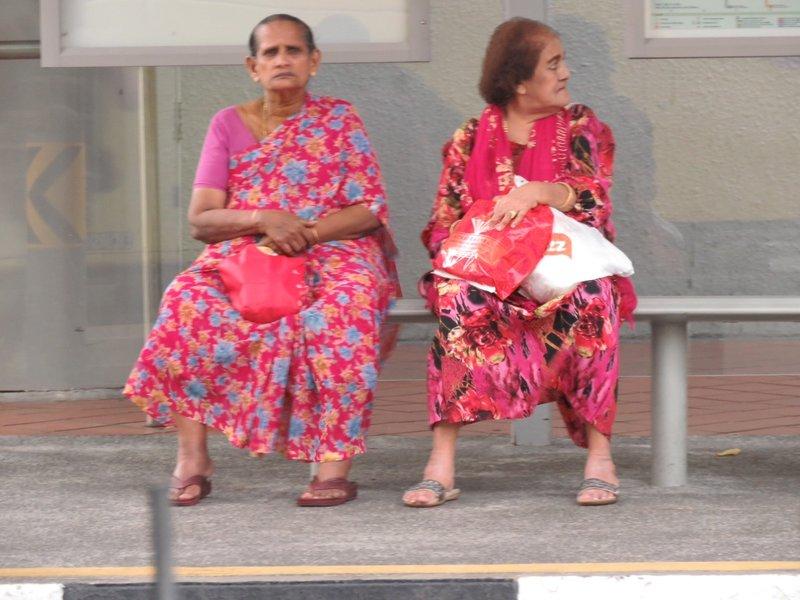 來買菜的中年主婦,印度西施就見不到了。