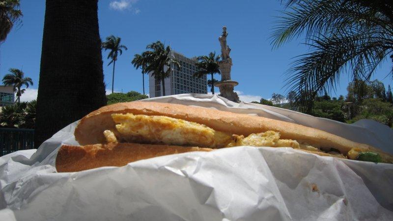 Sandwich in Noumea