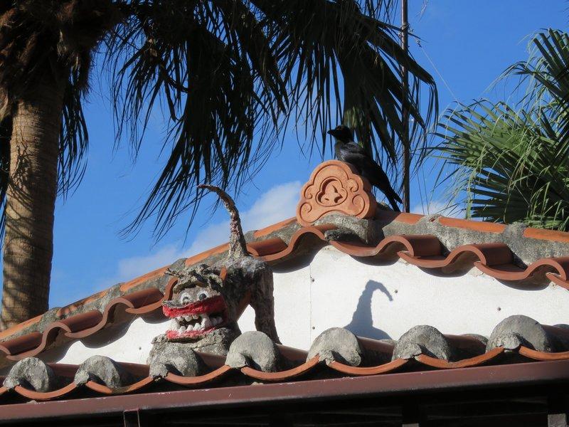 竹富島妥善保存著傳統琉球村落風貌。