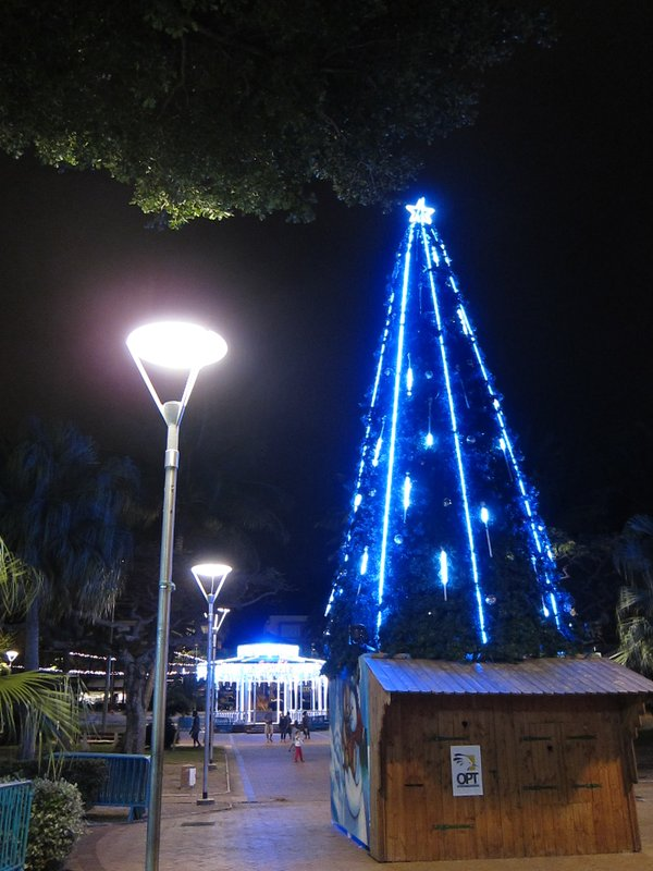Xmas decoration in Noumea