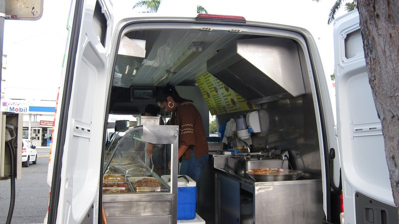 Food Van in Noumea
