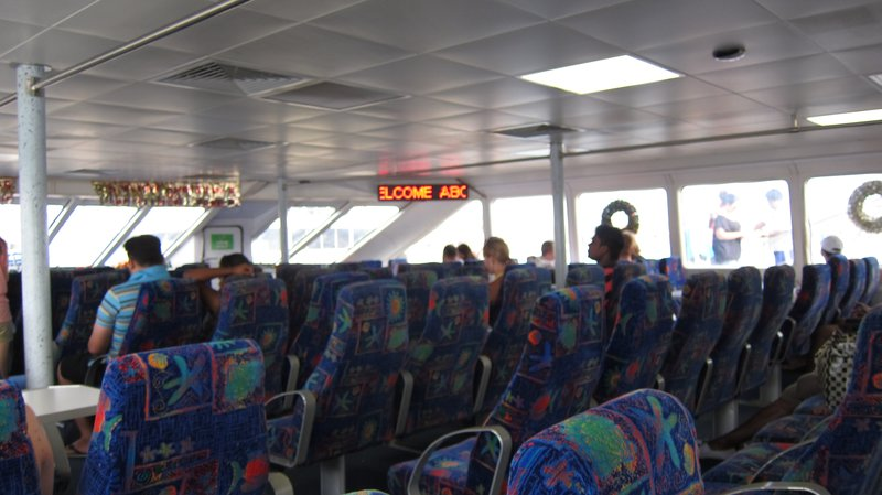 Air-conditioning Ferry to Mamanuca Islands