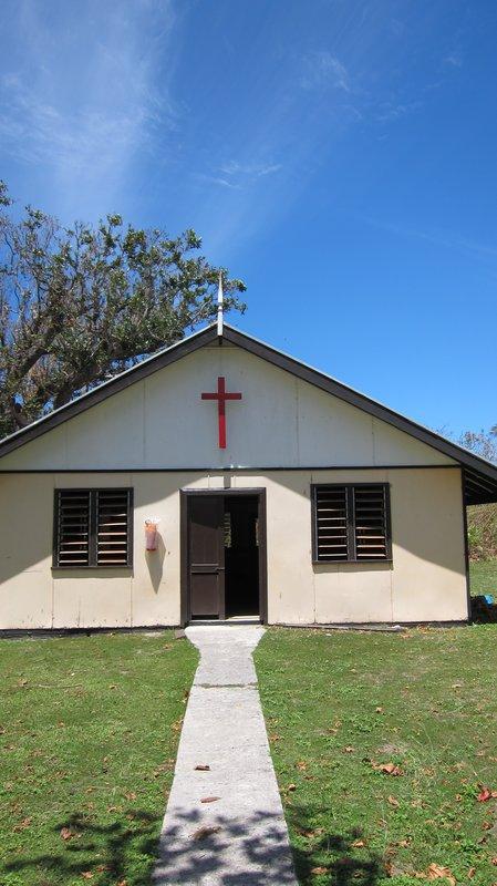 Church in Mana Island