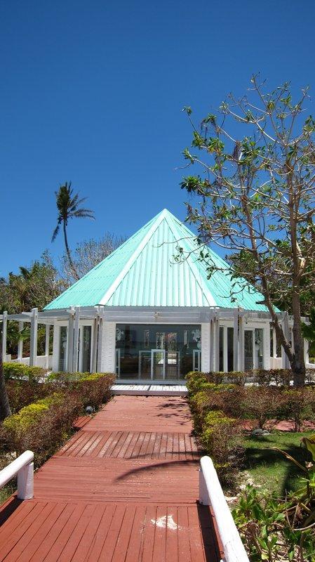 White Chapel in Mana Island