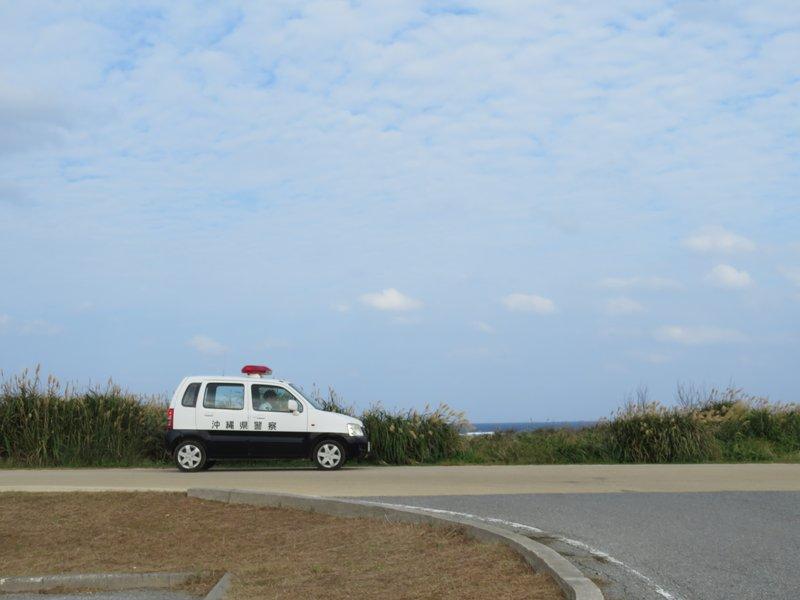 幾時都覺得沖繩的警車可愛