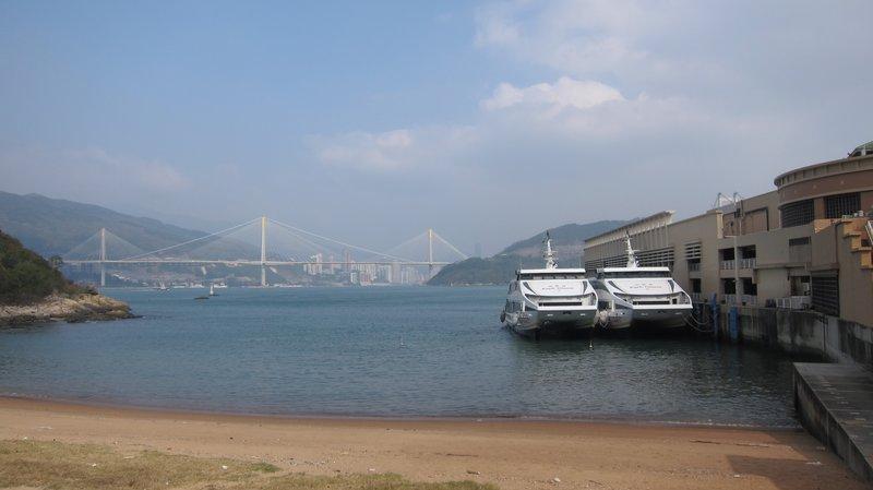 Pier @Ma Wan, Hong Kong