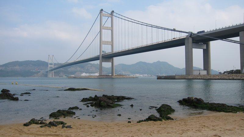 Tsing Ma Bridge  青馬大橋