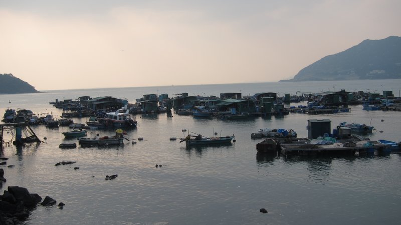 Old Fisherman's Village in Hong Kong