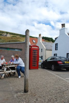 Pennan, and the phone box Peter Riegert's character used to call his boss in 'Local Hero'