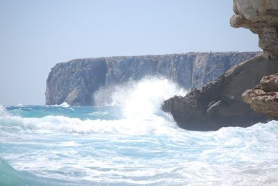 Sagres, often windy and in centuries gone by often thought to be the end of the world