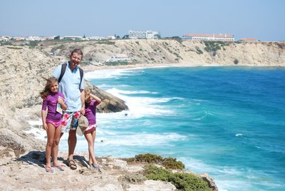 Sagres, view back from the 16th century fortress (of Henry the Navigator fame)