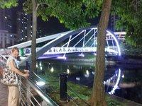 Millenium bridge Newcastle, Singapore style