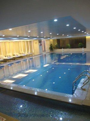 Sheraton pool area