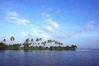 Backwater scenes in Kumarakom