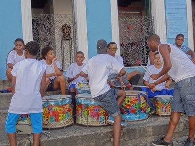 Salvador drummers