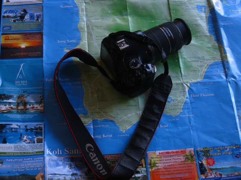 all i need a camera and a map